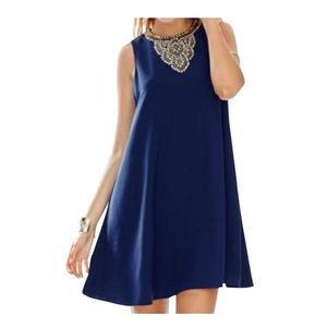 Lilly Pulitzer Mimi Dress - True Navy - Size 0 XS
